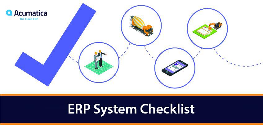 ERP System Comparison Checklist