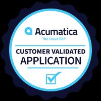 Acumatica_CustomerValidated_App_Badge